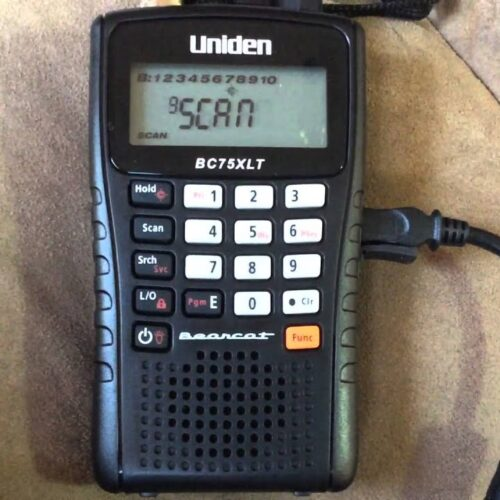 Uniden BC75XLT Review (Police Scanner Review)