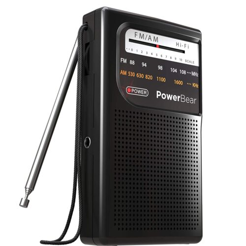Best Handheld AM/FM Radio [On-the-go Radio]